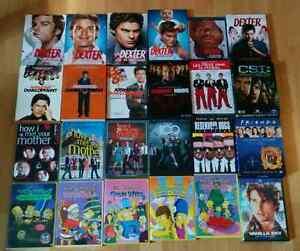 Dvd série tv simpsons dexter