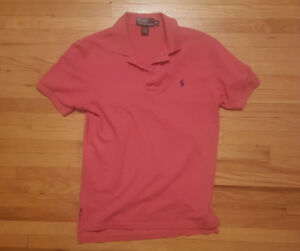 Polo Ralph Lauren salmon polo shirt (S) PICKUP/SHIPPING ONLY