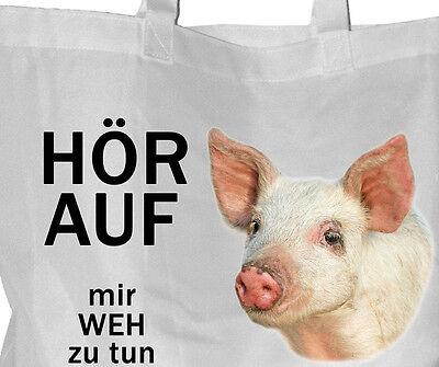 Tierrecht - Einkaufsbeutel Tasche VEGGIE Beutel Einkaufstasche - GO VEGAN 38