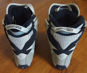 Salomon Women's Snowboard Boots ($50 for the pair)