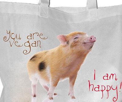 Tierrecht - Einkaufsbeutel Tasche VEGGIE Beutel Einkaufstasche - GO VEGAN 22