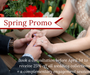 25% off Wedding Photography