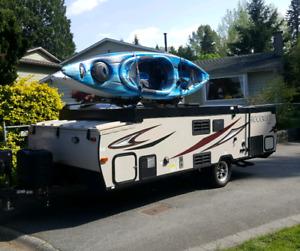Travel Trailer & kayak rental