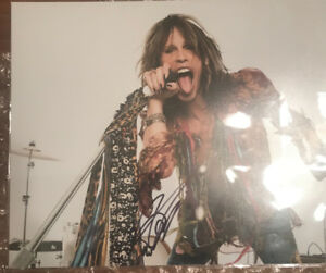 Steven Tyler Aerosmith Signed/ Autographed 11x14 photo COA