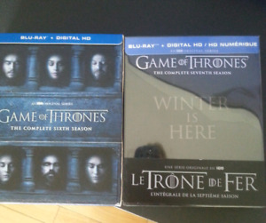 Game of Thrones Blu-Rays