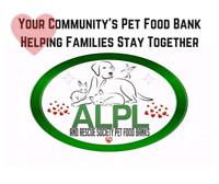 Pet food bank for families