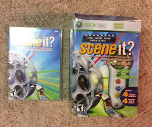 Scene It Movie Trivia Game with 4 Controllers!
