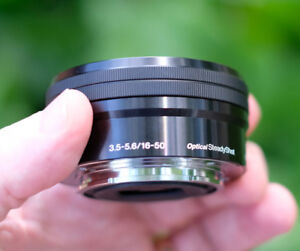 Sony 16-50mm lens, Beautiful, well maintained.