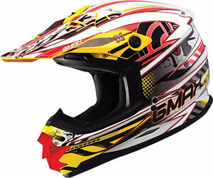 Never used G-max dirtbike helmet! Still has tag! (medium)