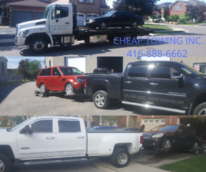 CHEAP TOWING MISSISSAUGA BATRY BOOST LOCKOUT FLAT BED TOW TRUCK