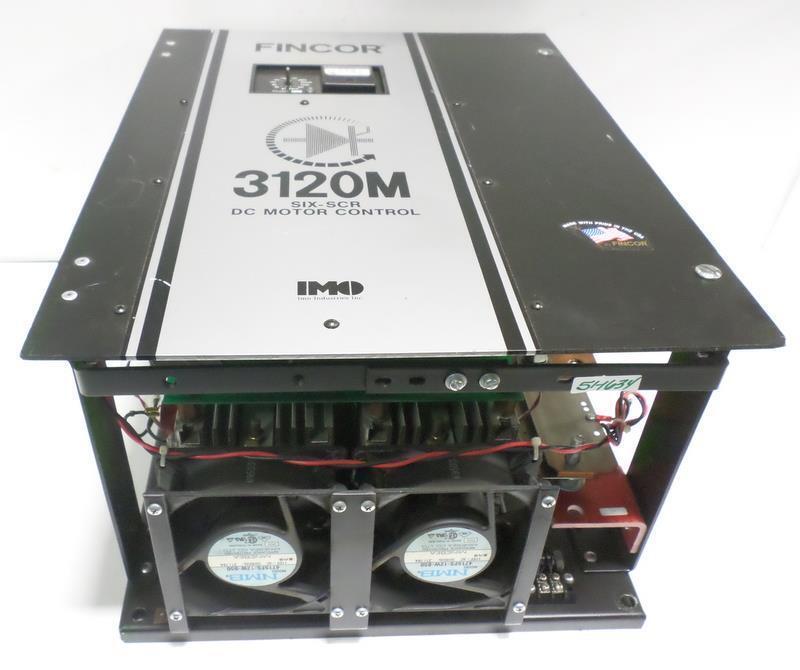 FINCOR 3120M DC MOTOR CONTROL SIX-SCR *JCH*