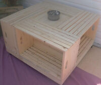 Crate Coffee Tables (Square or Rectangle)