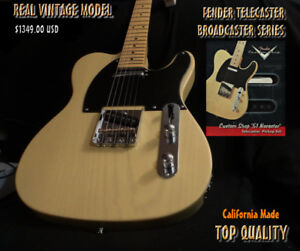 Fender Telecaster 52 Broadcaster Series Sold Out