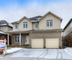 Huge open concept home in St. Jacobs