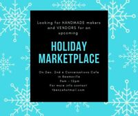 Looking for Handmade Makers and Vendors