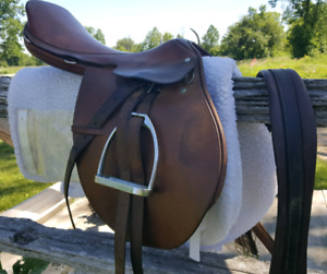 English Saddle Package
