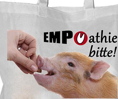 Tierrecht - Einkaufsbeutel Tasche VEGGIE Beutel Einkaufstasche - GO VEGAN 50