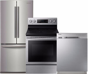 SAMSUNG ; FRIGIDAIRE FRIDGE,STOVE, DISHWASHER  PACKAGE DEALS: NO TAX 3 DAYS EVENT
