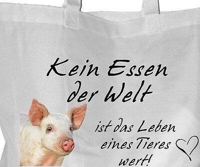 Tierrecht Tierschutz - Einkaufsbeutel Einkaufstasche Beutel Tasche - GO VEGAN 29