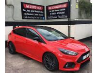2018 18 FORD FOCUS RS 2.3 ECOBOOST 5DR *RED EDITION* DELIVERY MILES,