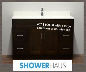 "Bathroom Vanity,  48"" Best Price,  more Vanities in many sizes"