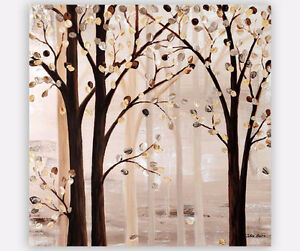 Large Original Painting, Trees Art, Tableau sur Toile Galerie