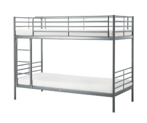 Ikea Svarta bunk bed in like new conditions for sale
