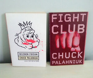 Chuck Palaniuk Fight Club & Invisible Monsters Kitchener / Waterloo Kitchener Area image 1