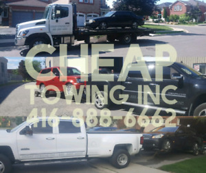 CHEAP TOW TRUCK FLAT BED TOWING ROADSIDE ASSISTANCE