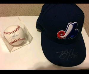 Montreal Expos autographed T.J.Tucker