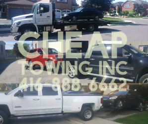 CHEAP TOWING MISSISSAUGA, SCRAP CAR REMOVAL, FLAT BED TOW TRUCK
