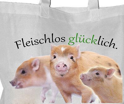 Tierrecht - Einkaufsbeutel Tasche VEGGIE Beutel Einkaufstasche - GO VEGAN 77