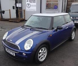 2003 (53) Mini One 1.4TD Blue