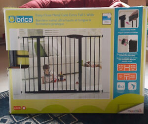 BRICA Easy-Close Metal Baby Gates