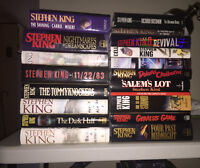 Stephen King - Hardcover books in English - Livres Anglais