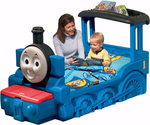 Toddler Beds - Thomas the Tank Engine and Yellow Car bed