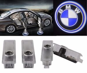 BMW, Audi LED Laser Logo Door Step Welcome Light.