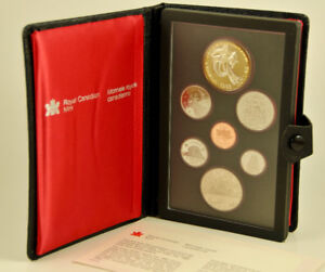 1983 Canada Double Dollar Proof Set Royal Canadian Mint Coins