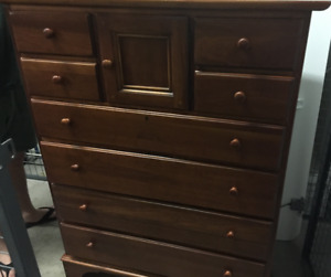 Solid Wood Dresser (9 drawer)