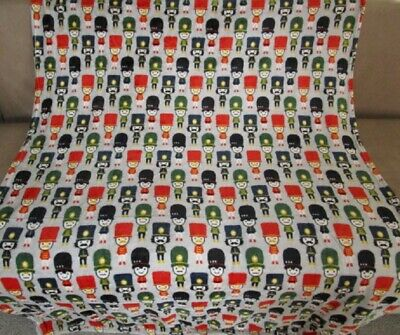 Nutcracker Blanket - New Nutcrackers Toy Soldiers Plush Fleece Throw GIFT Blanket Nutcracker Doll NIP
