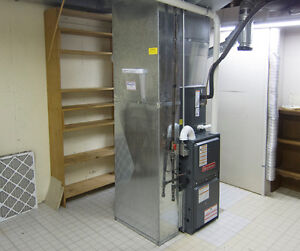 2-Stage Furnace/AC & Water Heater Upgrade