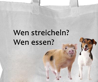 Tierrecht - Einkaufsbeutel Tasche VEGGIE Beutel Einkaufstasche - GO VEGAN 84