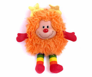 "Vintage Rainbow Brite O.J Orange Sprite Bright  Large 12"" Plush"