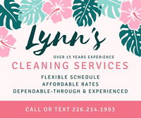 LYNN'S HOUSE CLEANING SERVICES