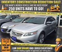 """CONSTRUCTION SALE! TAURUS SEL - TEXT """"AUTO LOAN"""" TO 519 567 3020"""