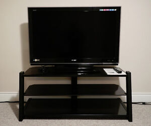 "Sharp 46"" AQUOS 1080p LCD HDTV and/or stand"