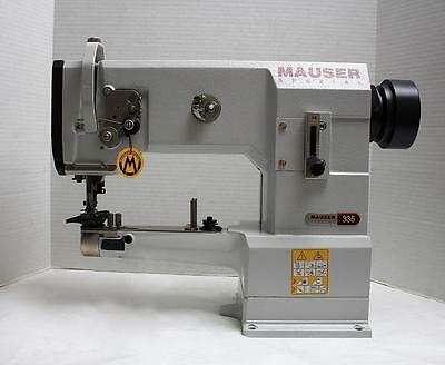 Mauser 335g-17 Walking Foot Cylinder Binder Industrial Sewing Machine Head Only