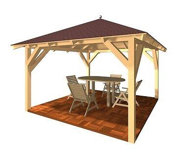 grillpavillon holz wohn design. Black Bedroom Furniture Sets. Home Design Ideas
