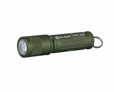 Olight I3UV EOS OD Green Compact Ultraviolet Flashlight, High Efficiency 395NM