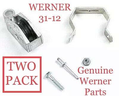 Werner 31-12 Replacement Pulley Assembly Kit Extension Ladder Parts Two Pack